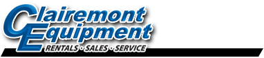Clairemont Equipment - Rentals, Sales, Service