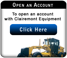 account, financing, clairemont equipment